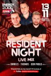 Energy 2000 (Katowice) - RESIDENT NIGHT LIVE MIX Daniels - Thomas - Don Pablo (13.11.2020)