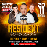 Energy 2000 (Katowice) - RESIDENT BATTLE LIVE MIX DeePush ★ Aras ★ D-Wave (20.11.2020)