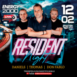 Energy 2000 (Katowice) - RESIDENT NIGHT ★ Daniels / Thomas / Don Pablo (12.02.2021)